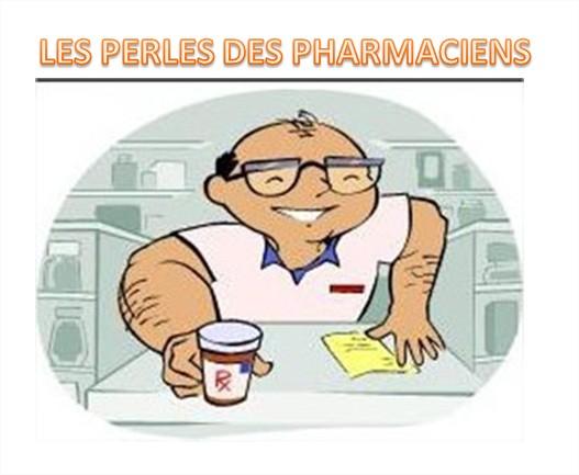 perles des pharmaciens
