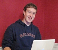 Mark Zuckerberg jeune