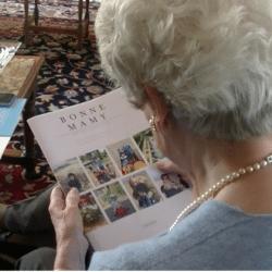 Cadeau de Noël pour grands-parents